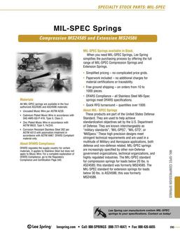 MIL-SPEC Overview 2015