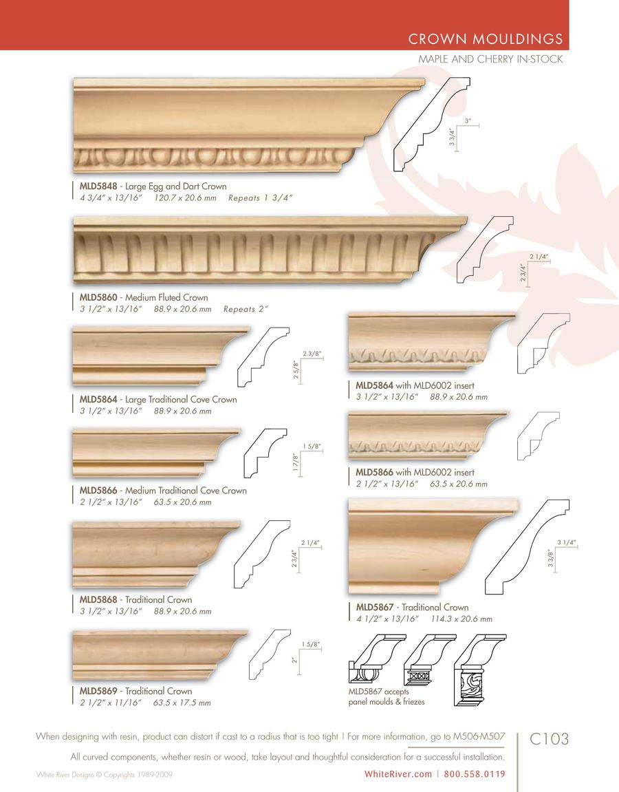 Moulding Pediments 2015 By White River Hardwoods