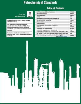 Master Catalog – Petrochemical Section 2015