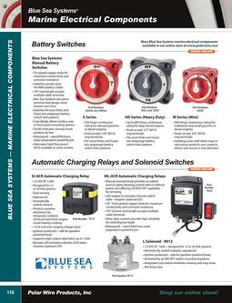 Blue Sea Systems Marine Electrical 2015
