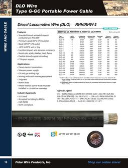 Diesel Locomotive Wire (DLO) 2015