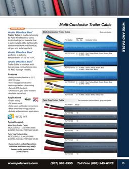 Tray/Trailer Cable 2015