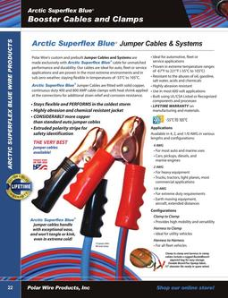 Booster Cable Systems, Clamps 2015