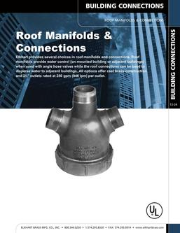 Roof Manifolds & Connections 2015