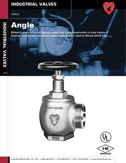 Angle Industrial Valves 2015