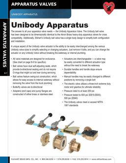 Unibody Apparatus 2015