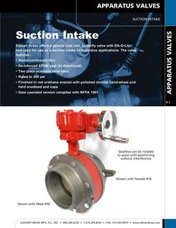 Suction Intake 2015