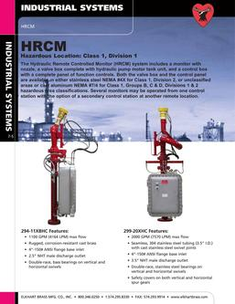 Hydraulic Remote Controlled Monitor (HRCM) 2015