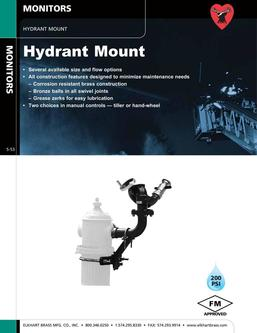 Hydrant Mount Monitors 2015
