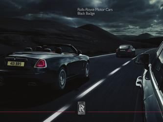 2018 Rolls Royce Black Badge