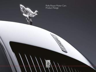 2018 Rolls Royce Model Range