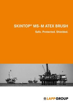 SKINTOP® MS - M ATEX BRUSH 2015
