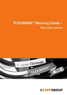 FLEXIMARK® Marking Guide 2015