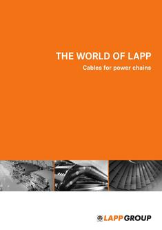 Cables for power chains 2015