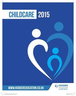 Child Care & Early Years 2015