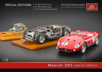 M-108-M-110 Maserati 300s Special Editions