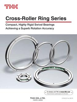 Cross-Roller Ring Series 2015