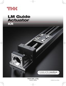 LM Guide Actuator Model KR 2015