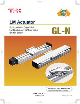 LM Guide Actuator Model GL-N 2015