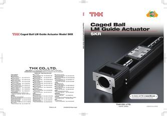 Caged Ball LM Guide Actuator Model SKR 2015