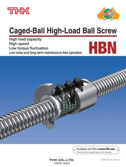 Caged-Ball High-Load Ball Screw Model HBN 2015