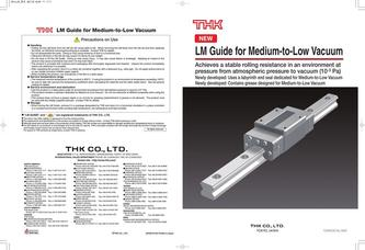LM Guide for Medium-to-Low Vacuum 2015