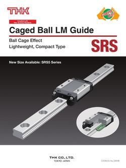 Caged Ball LM Guide Model SRS 2015