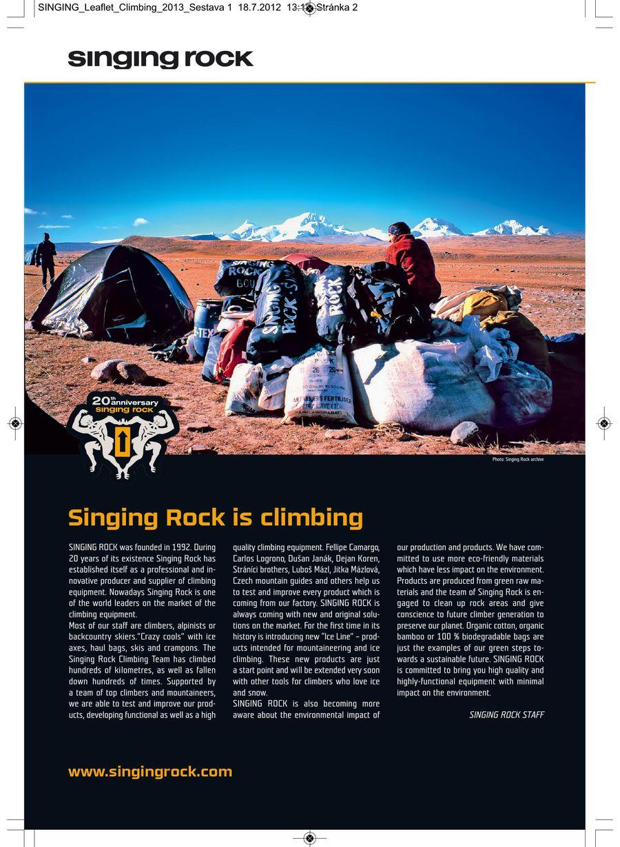 Resistant helmet for all climbing activities C0052 SINGING ROCK KAPPA