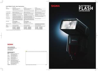 SIGMA Flash 2015