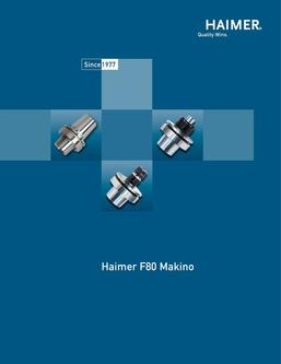 Makino Tool Holders (metric and inch) 2015