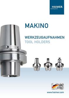 Makino Tool Holders (metric) 2015
