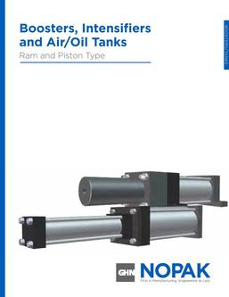 Booster Intensifiers & Air/Oil Tanks Full Section 2015