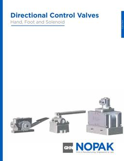 Hand, Foot & Solenoid Valve Section 2015