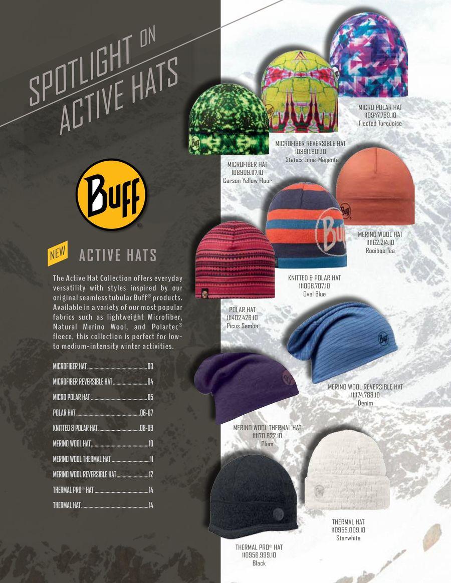 fc7eba2e016 Fall Winter 2015-16 Hats by BUFF® USA