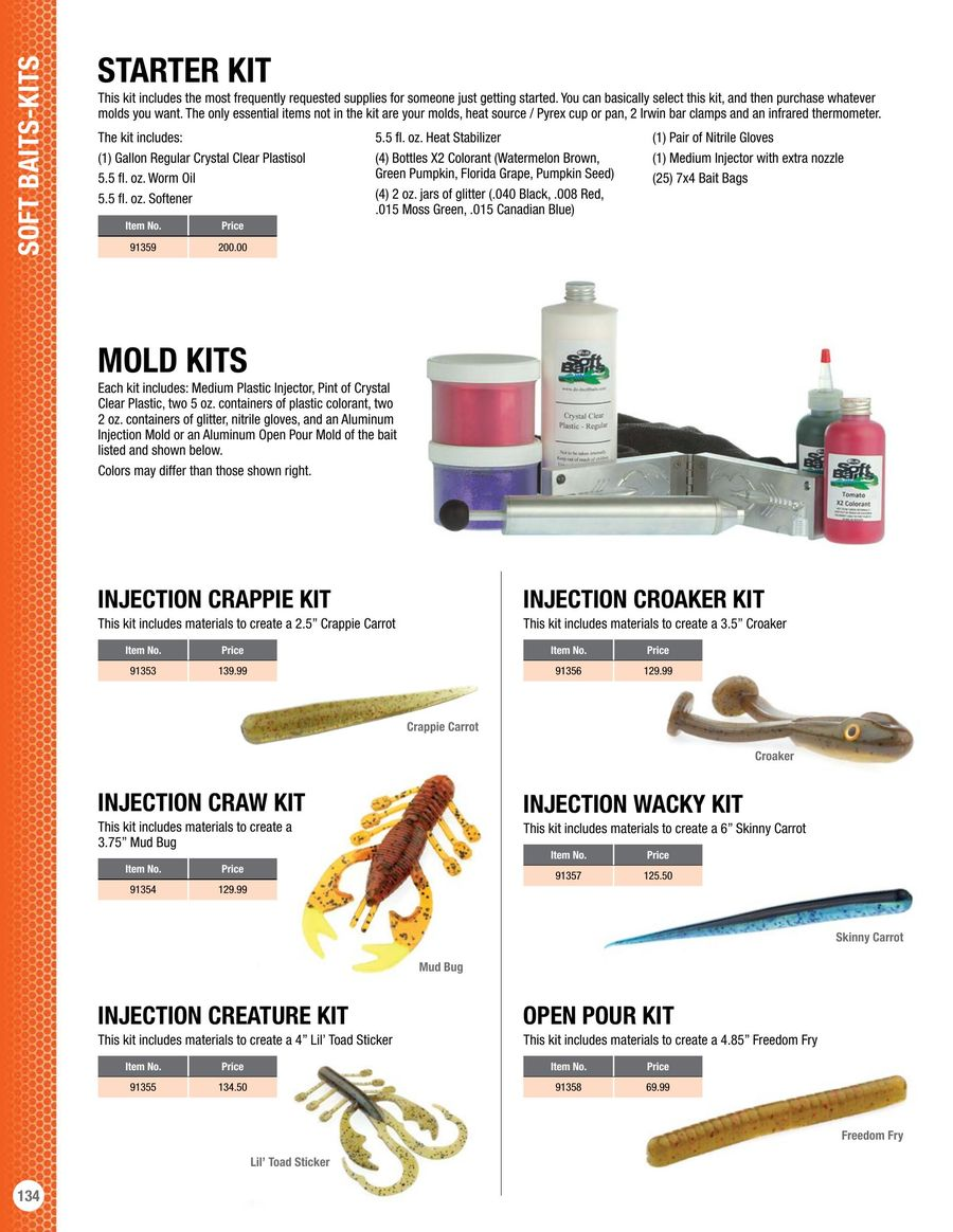 Page 31 of Soft Bait Molds and Supplies 2017