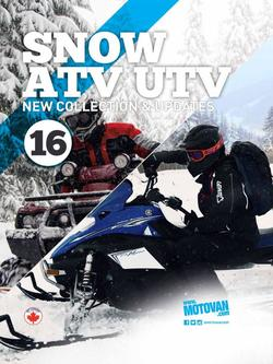 2016 Snow - ATV - UTV Parts and Accessories
