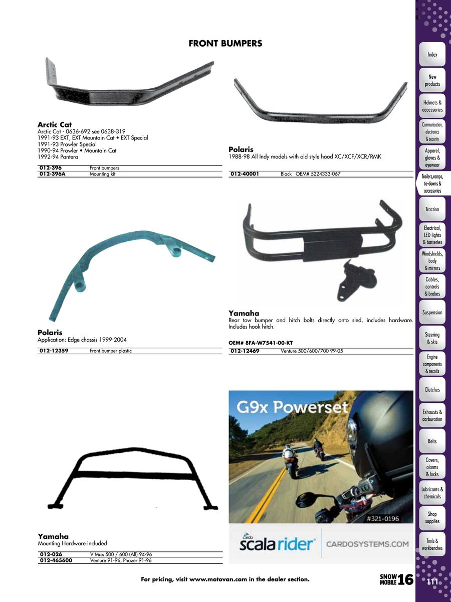 Page 108 Of 2016 Snowmobile Parts Accessories 1988 Arctic Cat Wildcat Wiring Diagram P 1052
