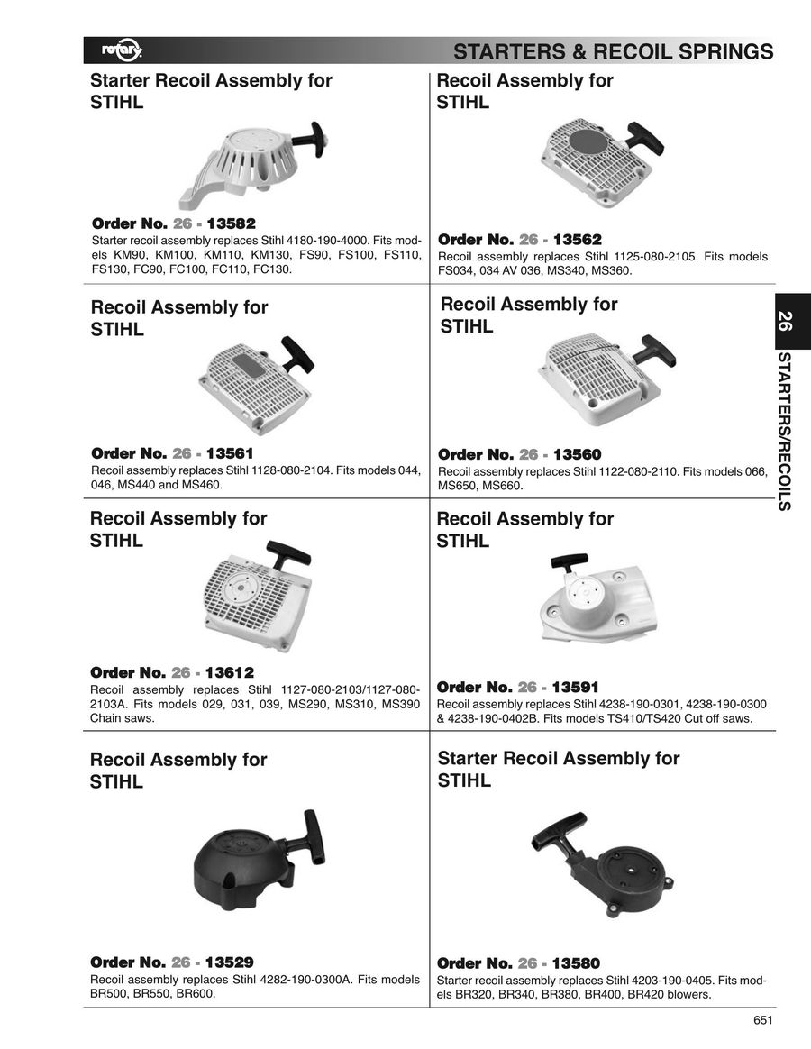 Page 648 of Outdoor power equipment parts, tools and accessories 2016