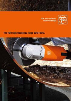 The FEIN high-frequency range 2012 / 2013