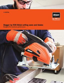 Slugger Metal cutting saws and blades