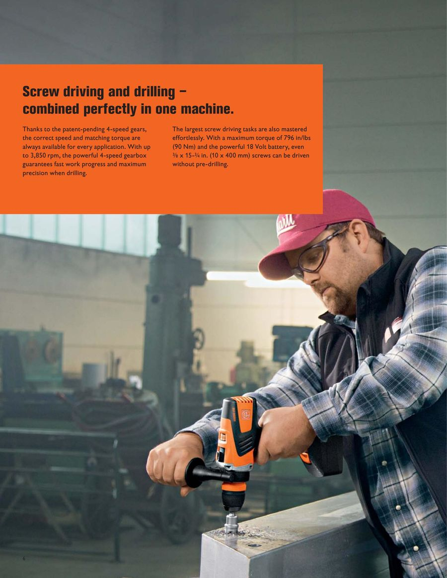 Cordless drill/drivers by FEIN US
