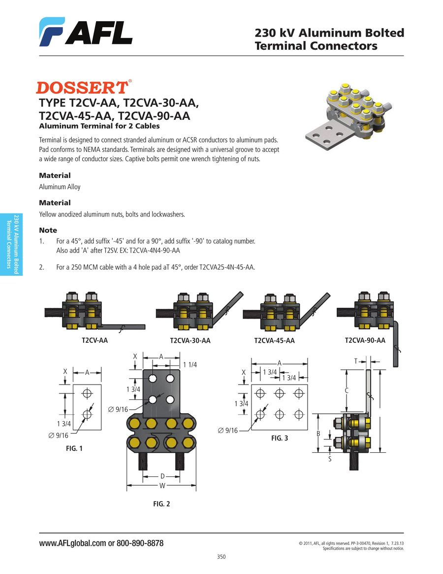 Page 393 Of 2016 Substation Power Connectors And Accessories Aluminum Wiring P 694