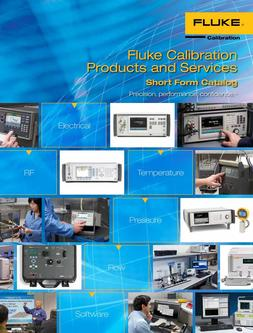 Calibration Products and Services 2016