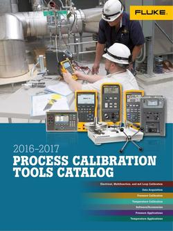 Process Calibration Tools 2016/2017