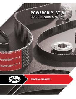 PowerGrip GT3 Belt Drive Design 2014