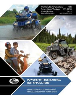 Powersport Applications 2015