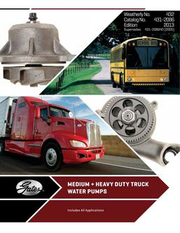 Medium & Heavy-Duty Water Pumps 2016