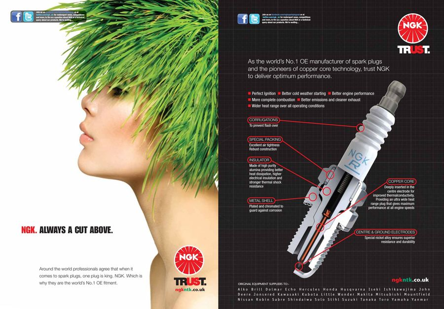 Horticultural catalogue 2015 by NGK Spark Plugs UK