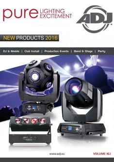ADJ New Products 2016