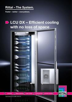LCU DX – Efficient cooling with no loss of space 2016